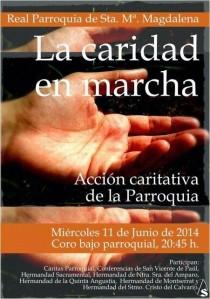 charla sobre la caridad en la Magdalena 2014[1]