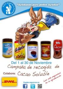 Campaña cacao DHL