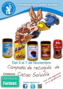 Campaña cacao formas
